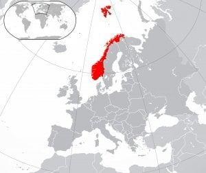 norvegia geografica