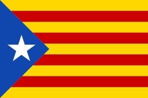 bandiera catalonia estelada