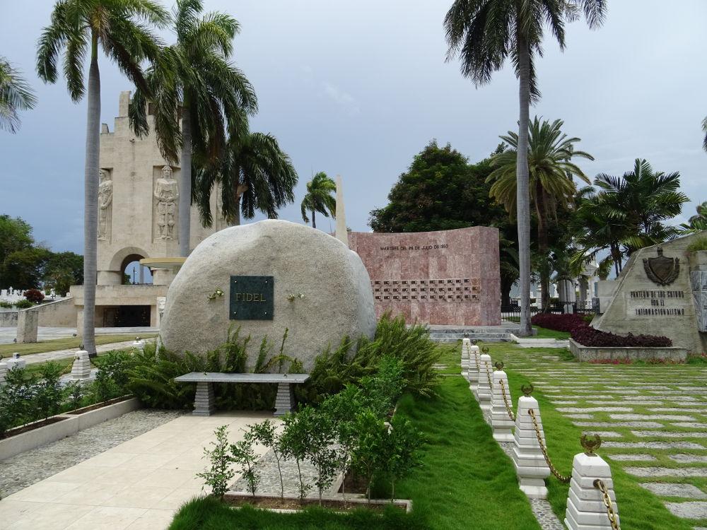 Fidel Castro - Cimitero monumental - Santiago de Cuba