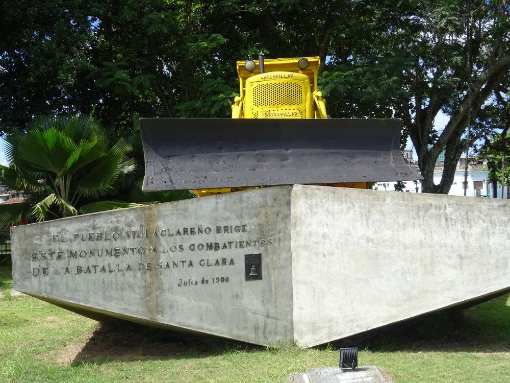 Monumento al Tren Blindado - Santa Clara - Cuba