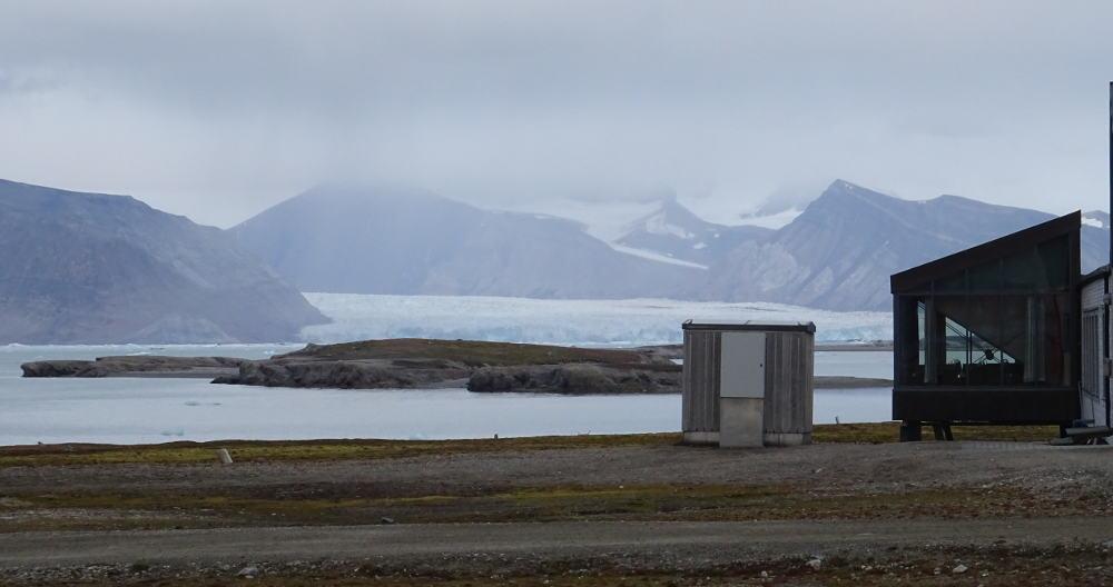 Ny-Ålesund-ghiacciaio