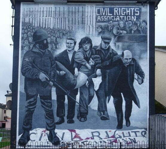 Derry-Bogside-civil-rights-association-murales
