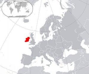 mappa eire irlanda cartina geografica