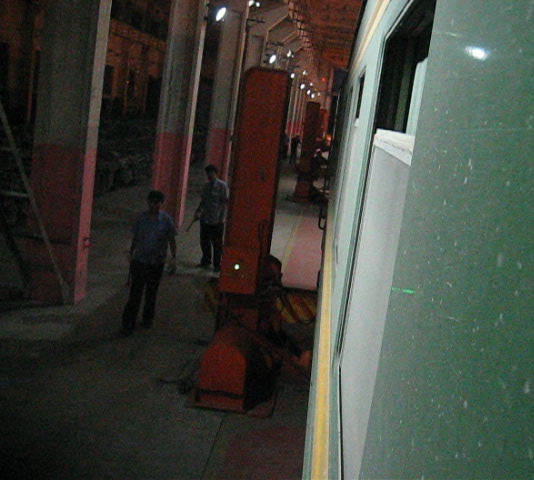 modifica scartamento binari treno Transiberiana - Erlian Cina
