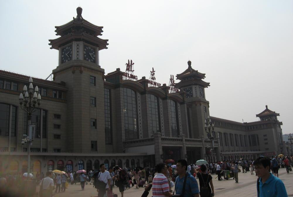 stazione Pechino Cina - treno Transiberiana