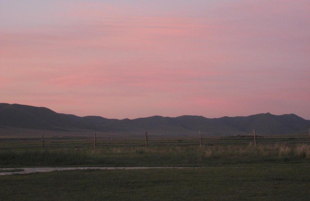 tramonto Guun Galuut Mongolia