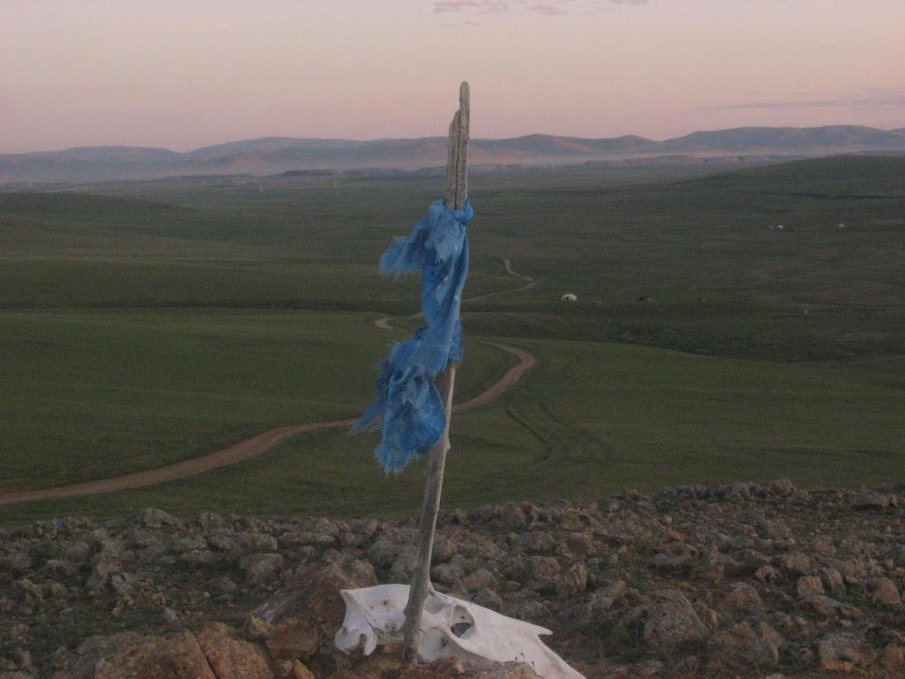 tramonto Guun Galuut Mongolia1