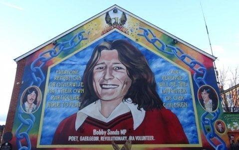 Ireland - Belfast - Bobby Sands murales